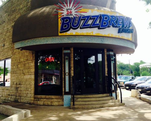 BuzzBrews front door